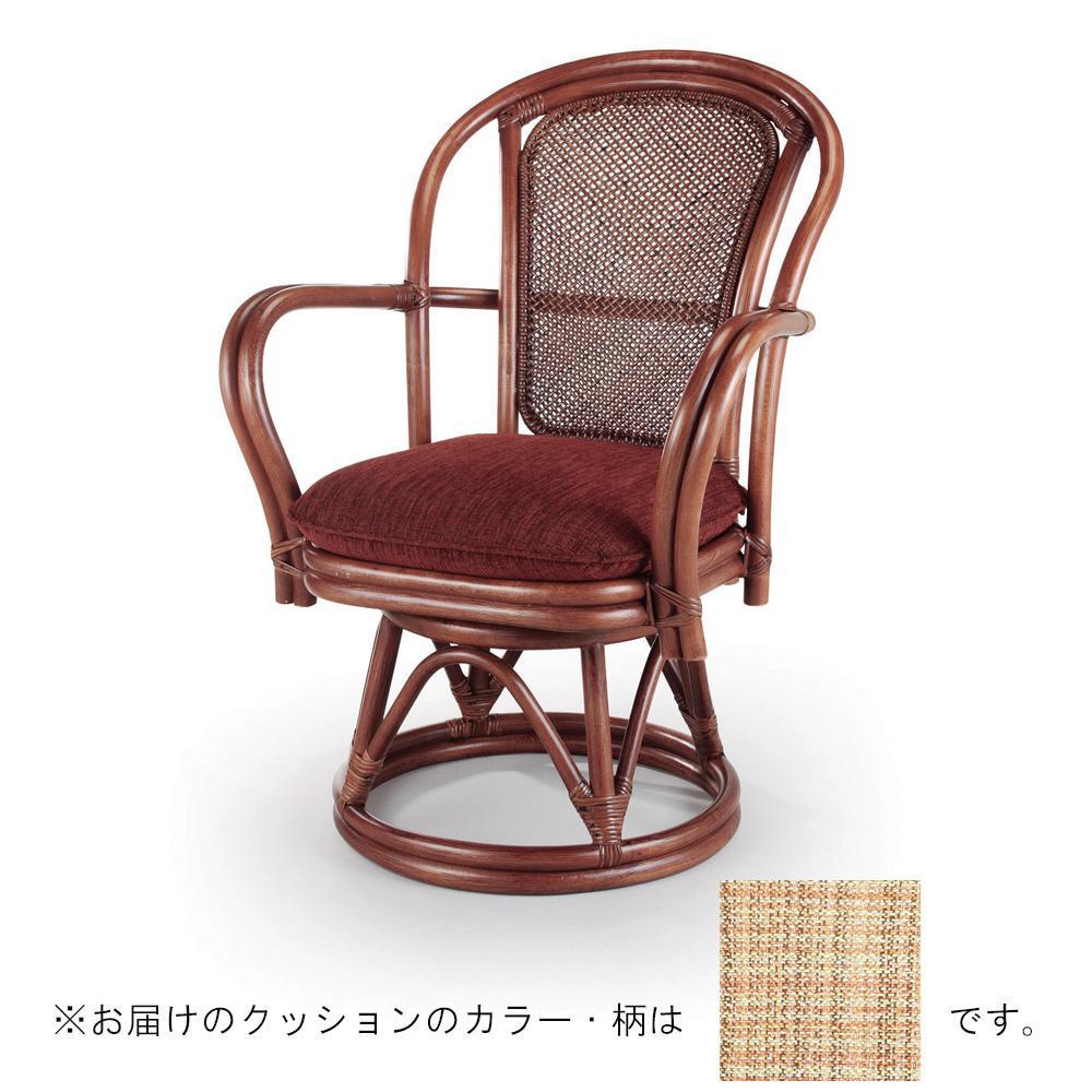 今枝ラタン 籐 シーベルチェア 回転椅子 ブルース A-230LD [ラッピング不可][代引不可][同梱不可]