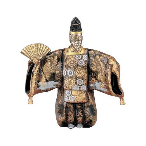 高岡銅器 和風置物 翁地紋 155-03