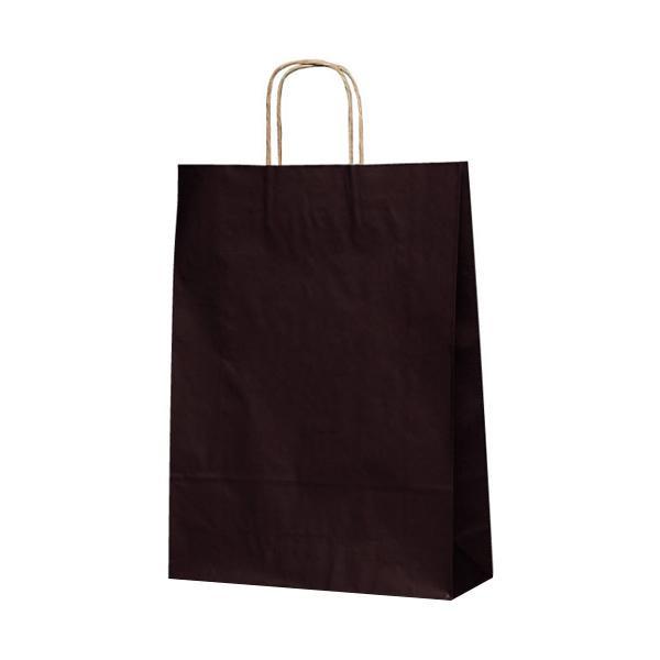 T-8 自動紐手提袋 紙袋 紙丸紐タイプ 320×110×430mm 200枚 カラー(カカオ) 1846 [ラッピング不可][代引不可][同梱不可]