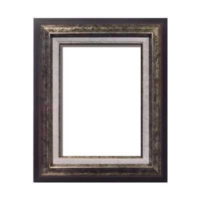 油額 銀 F8号 ガラス 455×380mm 3001 [ラッピング不可][代引不可][同梱不可]