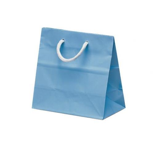 リトルバッグ 手提袋 165×90×160mm 100枚 ブルー 1508 [ラッピング不可][代引不可][同梱不可]