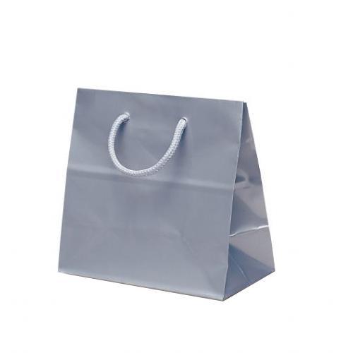 リトルバッグ 手提袋 165×90×160mm 100枚 シルバー 1502 [ラッピング不可][代引不可][同梱不可]