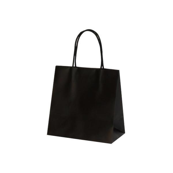 マットバッグ(SS) 手提袋 220×120×220mm 100枚 ブラック 1078 [ラッピング不可][代引不可][同梱不可]