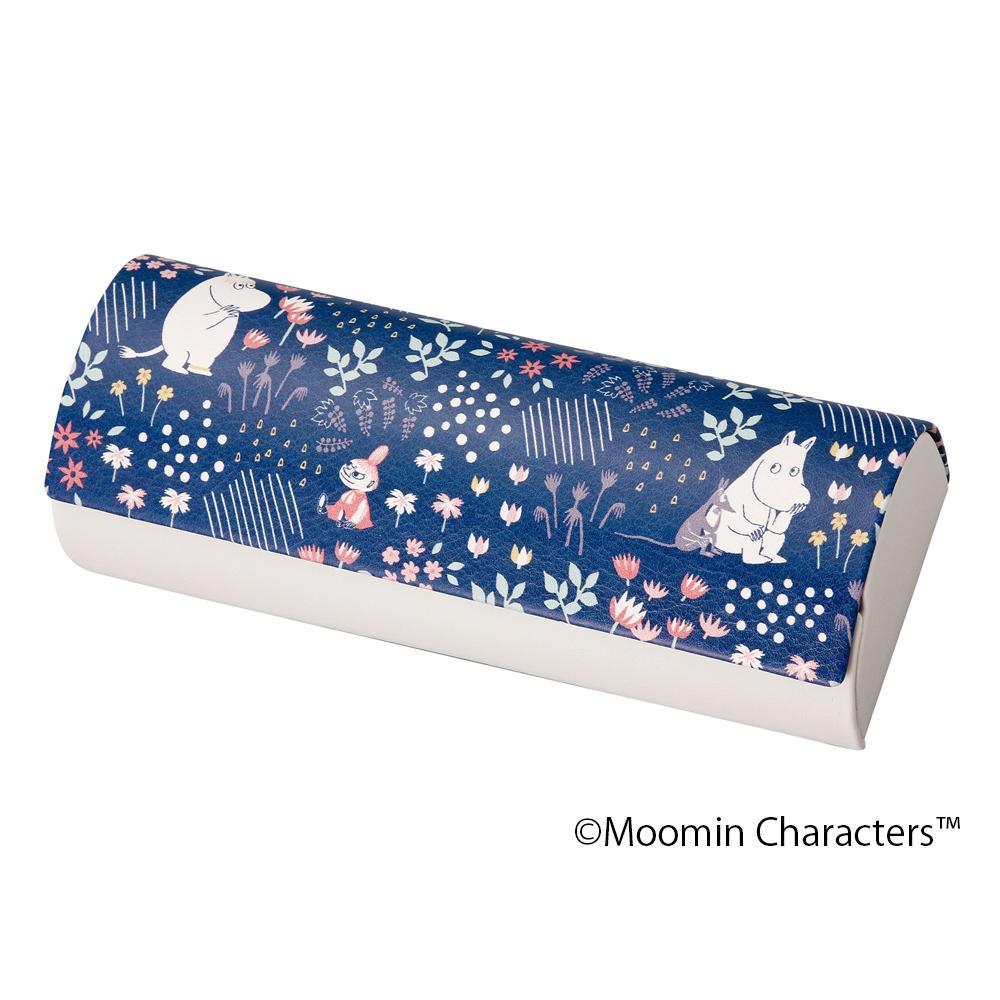 【送料無料】【メール便】  MOOMIN(ムーミン) メガネケース ムーミン/森(クロス付)