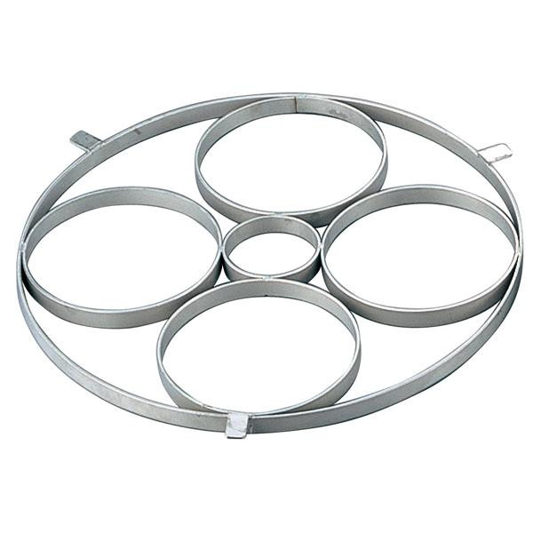 EBM 18-8 ゆで麺鍋用リング Aタイプ Φ145×4穴 867200