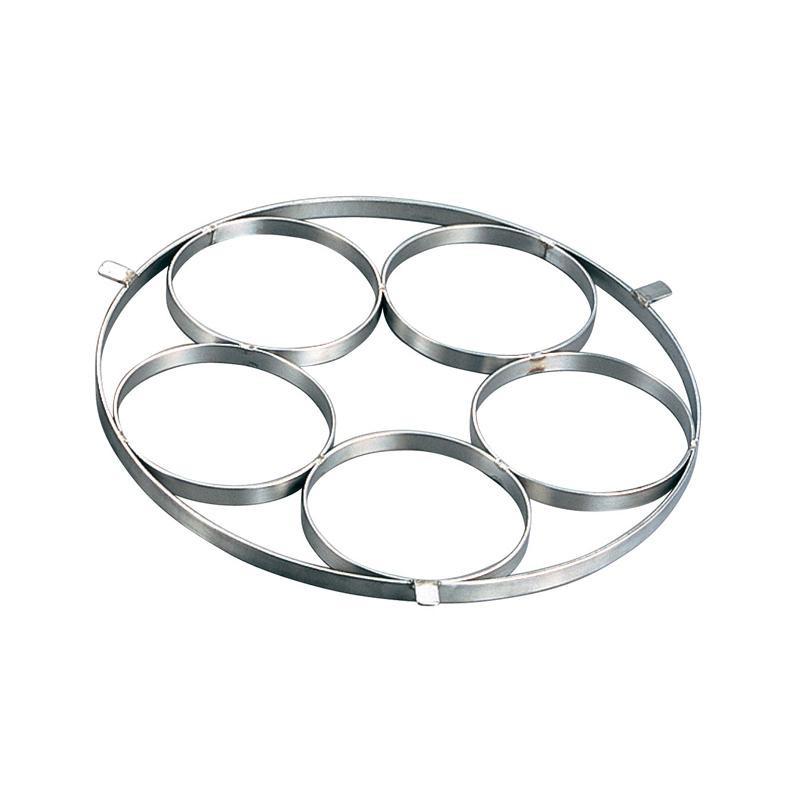 EBM 18-8 ゆで麺鍋用リング Cタイプ Φ145×5穴 867400