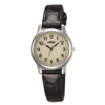 AUREOLE(オレオール) レザー レディース腕時計 SW-467L-4