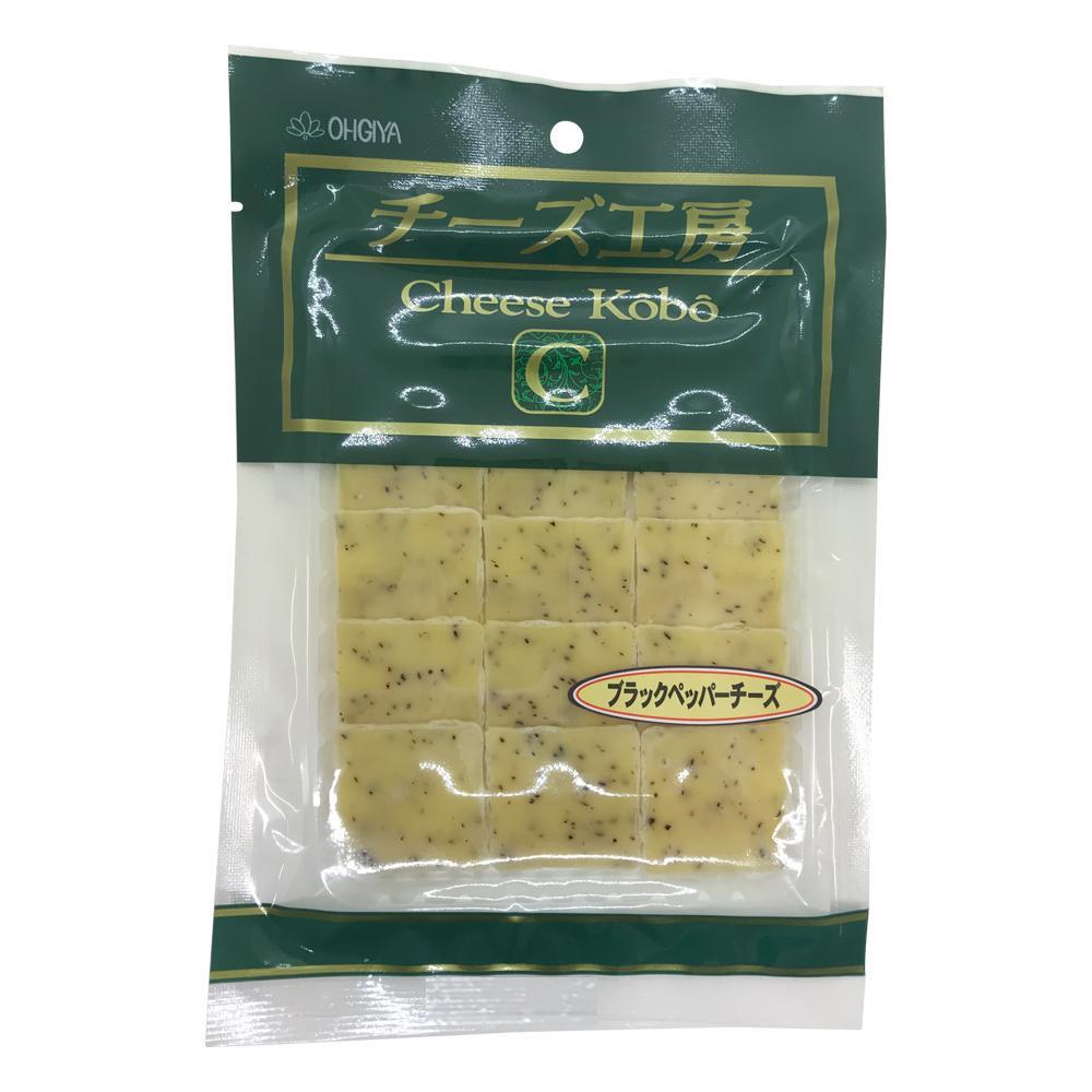 扇屋食品 チーズ工房ブラックペッパーチーズ(12枚入)×100袋 [ラッピング不可][代引不可][同梱不可]