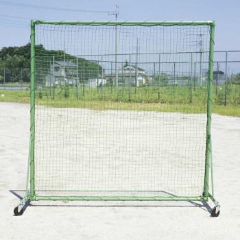 固定式 防球フェンス(車付) B-734 [ラッピング不可][代引不可][同梱不可]