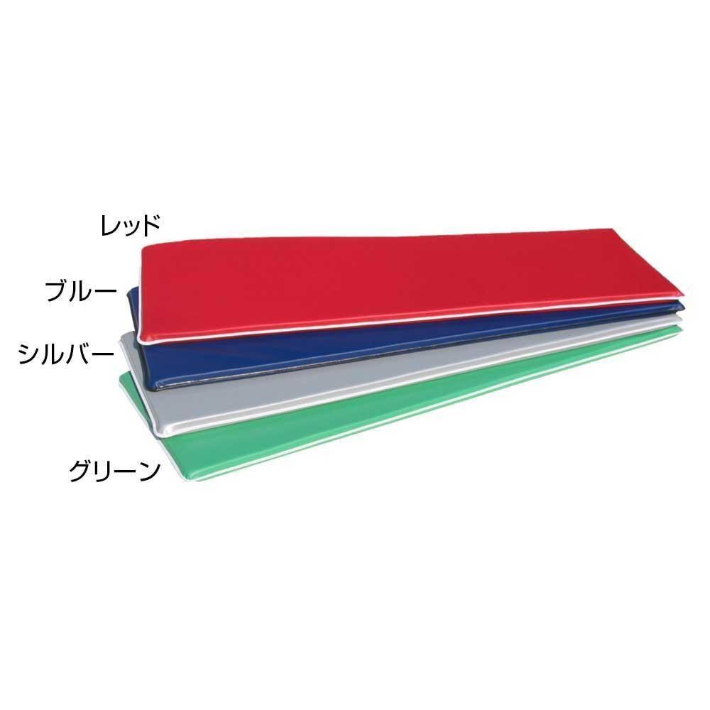 エアロビクスマット(ソフトタイプ) 60×120×4cm F-44 レッド [ラッピング不可][代引不可][同梱不可]