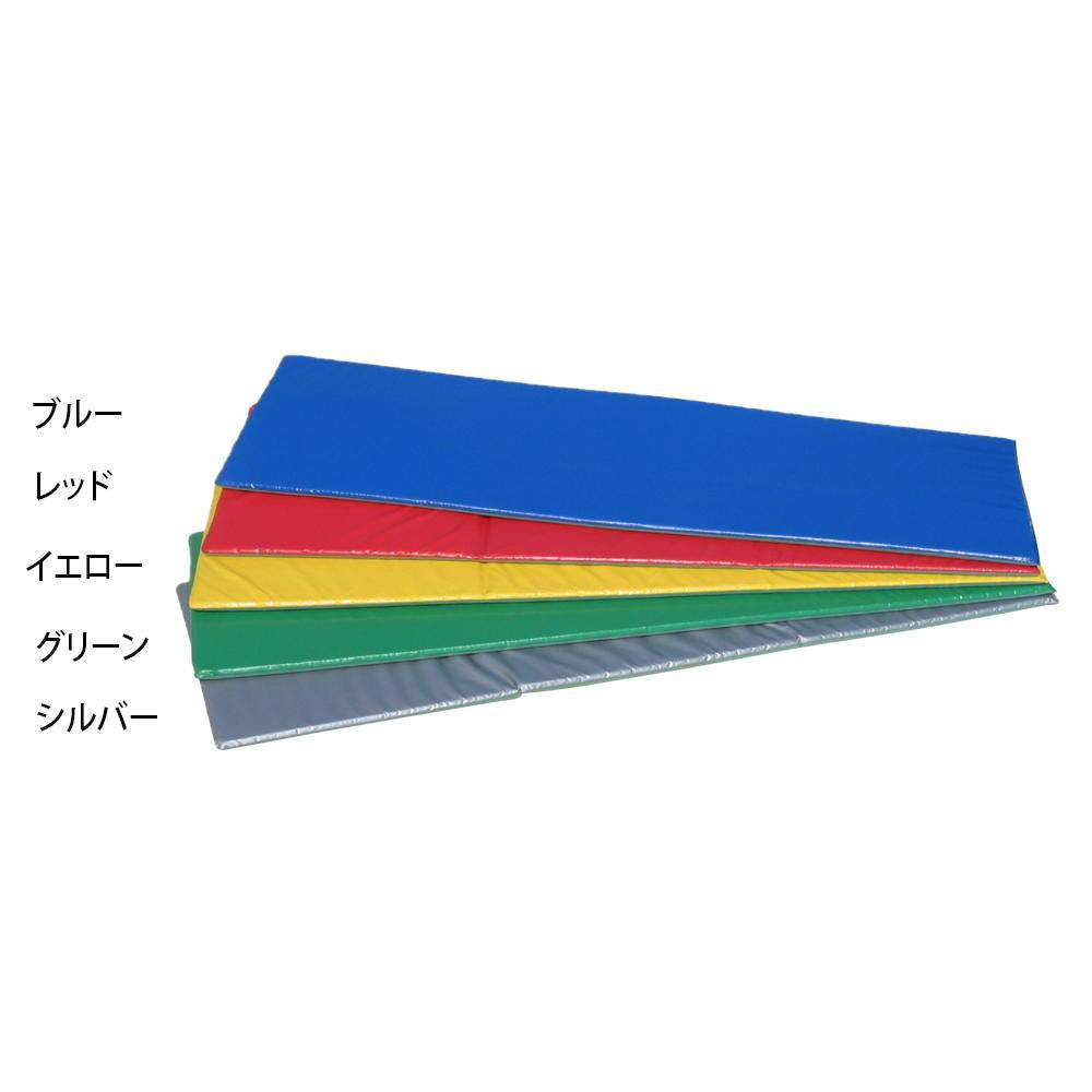 フィットネスマット 60×180×2cm F-53 レッド [ラッピング不可][代引不可][同梱不可]