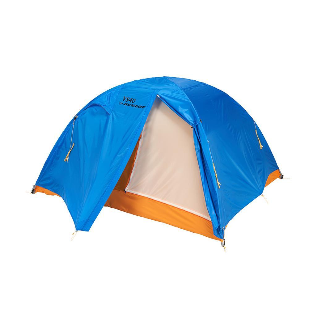 VS-Series コンパクト登山テント 4人用 ブルー VS-40