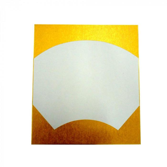 大色紙 絵馬型 外金潜紙 特上 50枚 0054
