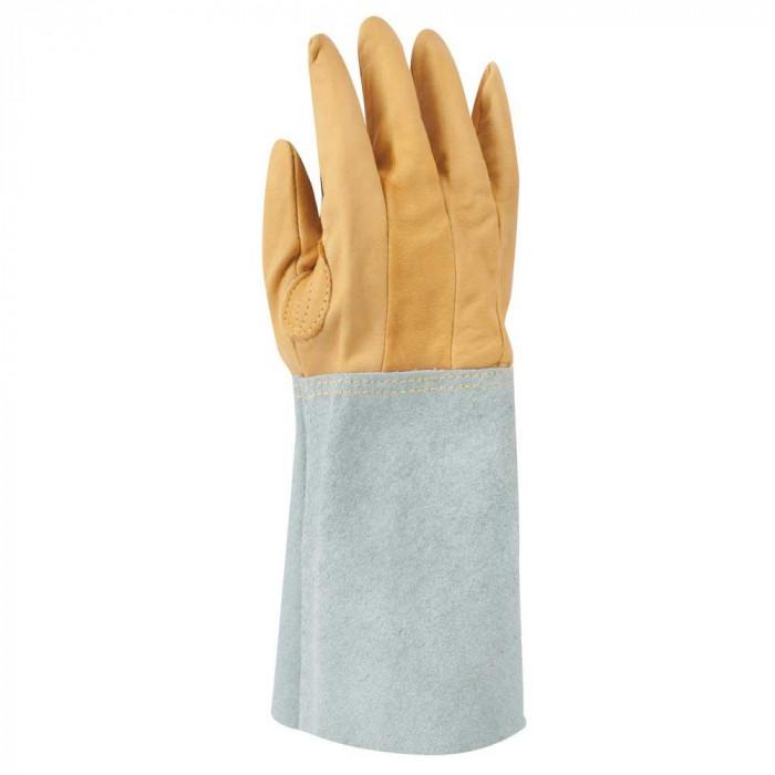 東和コーポレーション(TOWA) 溶接用手袋 表革5本指 W-115 12双 フリーサイズ [ラッピング不可][代引不可][同梱不可]