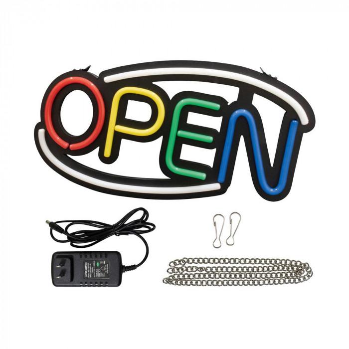 LEDライトサイン OPEN (4色) 29939