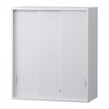 豊國工業 壁面収納庫深型3枚引違い(上置) ホワイト HOS-HKS3UNN BN-90色(ホワイト) [ラッピング不可][代引不可][同梱不可]