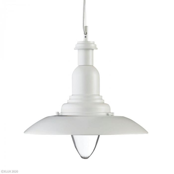 ELUX(エルックス) PORTLAND(ポーランド) 1灯ペンダントライト ホワイト 104089 [ラッピング不可][代引不可][同梱不可]