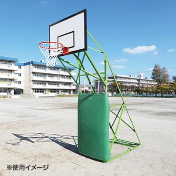 ミニバスケット用防護マット 35mm 2枚組 J402 [ラッピング不可][代引不可][同梱不可]