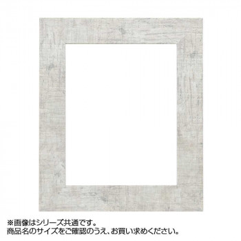 アルナ 樹脂フレーム デッサン額 APS-05 ホワイト F6 57193 [ラッピング不可][代引不可][同梱不可]