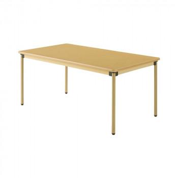 オフィス・施設向け家具 オールラウンドテーブル 160×90×70cm メープル UFT-ST1690 [ラッピング不可][代引不可][同梱不可]