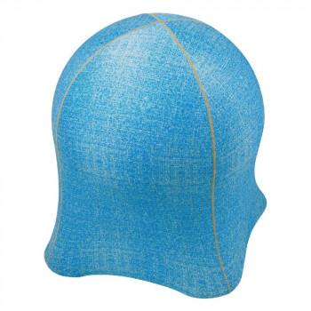 SPICE ジェリーフィッシュチェア デニム柄ブルー WKC103BL