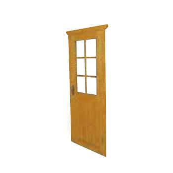 グラウンズマン用ドア 片開き 33726 [ラッピング不可][代引不可][同梱不可]