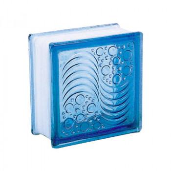 ガラスブロック オーシャンビュー95 ライトブルー 19505 6個セット [ラッピング不可][代引不可][同梱不可]