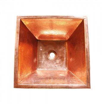 銅製洗面ボウル 角型 29412 29412 [ラッピング不可][代引不可][同梱不可]