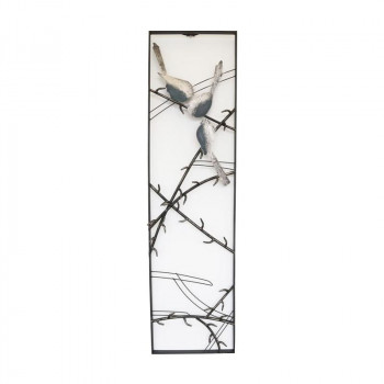 かわ畑 ウォールアートパネルA 壁掛け 壁飾り 鳥 1808TSF001 [ラッピング不可][代引不可][同梱不可]
