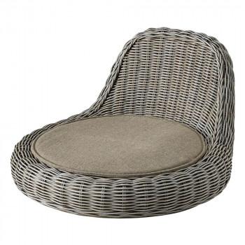 HOMEDAY 座椅子 LGW(ライトグレーウォッシュ) RA-804 [ラッピング不可][代引不可][同梱不可]