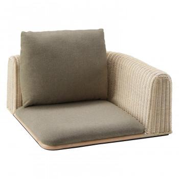HOMEDAY 座椅子 WHW(ホワイトウォッシュ アッシュ) RA-834-C [ラッピング不可][代引不可][同梱不可]