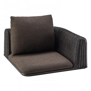 HOMEDAY 座椅子 BKW(ブラックウォッシュ) RA-834-C [ラッピング不可][代引不可][同梱不可]