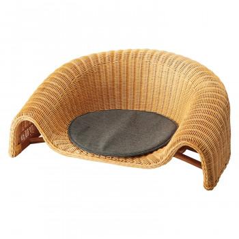 HOMEDAY 座椅子 NA(ナチュラル アッシュ) RA-802 [ラッピング不可][代引不可][同梱不可]