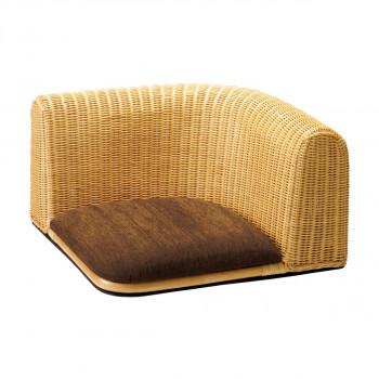 HOMEDAY 座椅子 NA(ナチュラル アッシュ) RA-803 [ラッピング不可][代引不可][同梱不可]