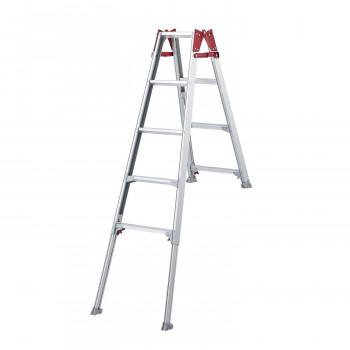 階段で使える片側ショートタイプ! はしご兼用脚立 (脚部伸縮式) RYE-15b [ラッピング不可][代引不可][同梱不可]