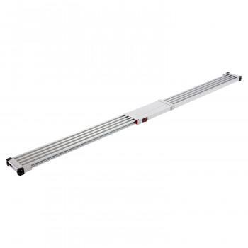 スノコ敷き伸縮足場板 スライドステージ SSF1.0-400 [ラッピング不可][代引不可][同梱不可]