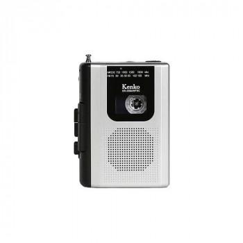 ケンコー AM/FMラジオ付きカセットレコーダー KR-008AWFRC 198425-166 [ラッピング不可][代引不可][同梱不可]