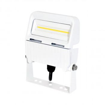 電球色 白 常設用フラットライト 10W LJS-FA10D-W-25K 13788