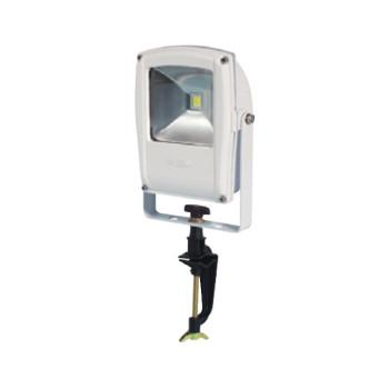 電球色 白 13031 LEN-F10V-W-S LEDフラットライト バイス式 10W