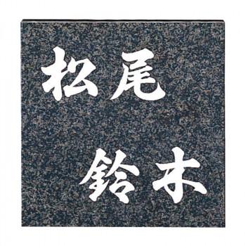福彫 表札 スタイルプラス グレーミカゲ FS26-201 [ラッピング不可][代引不可][同梱不可]