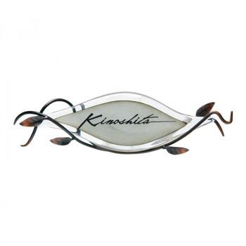 福彫 表札 マーヴェラスグラス モノクローム GPM-781 [ラッピング不可][代引不可][同梱不可]