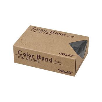 共和 カラーバンドプチ ブラック 30g/箱 GGC-030-BK 100箱 GGC-030-BK [ラッピング不可][代引不可][同梱不可]