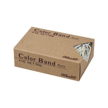 共和 カラーバンドプチ ホワイト 30g/箱 GGC-030-WT 100箱 GGC-030-WT [ラッピング不可][代引不可][同梱不可]