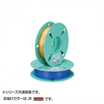 共和 PETリール巻(平行) 茶 QK-750T9 10巻 QK-750T9 [ラッピング不可][代引不可][同梱不可]