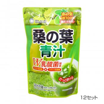 つぼ市製茶本舗 桑の葉青汁 30g(15包) 12セット [ラッピング不可][代引不可][同梱不可]