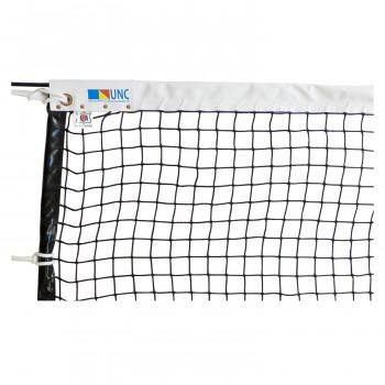 鵜沢ネット 硬式テニスネット(シュターク) 黒 220dt/120本 11618 [ラッピング不可][代引不可][同梱不可]