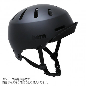 bern バーン ヘルメット MACON VISOR2.0 MT BLACK M BE-BM28H20MBK-03