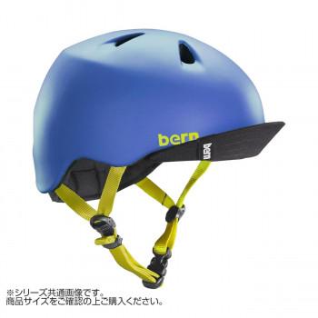 bern バーン ヘルメット キッズ NINO MT BLUE VISOR XS-S BE-VJBMBLV-11