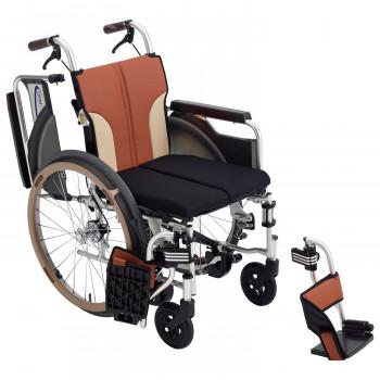 【代引き不可】 ミキ/MiKi 車いす とまっティシリ-ズ ノンバックブレーキシステム ブラウン SKT-400B [ラッピング][][同梱], 日本健康美容開発 0be1c803