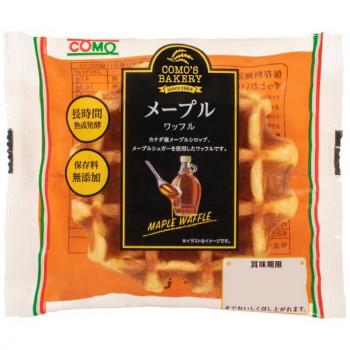 送料無料 コモのパン メープルワッフル ×24個セット 代引不可 お買得 商店 同梱不可 ラッピング不可